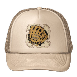 Gorra del campeón del béisbol