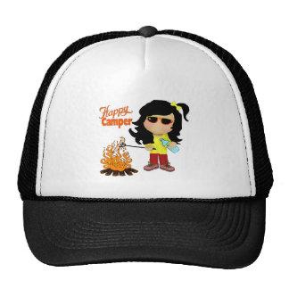 gorra del campista contento