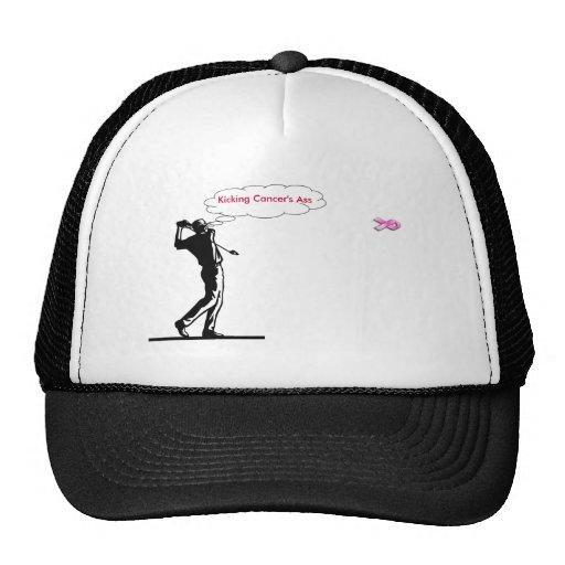 gorra del cáncer de pecho del golf