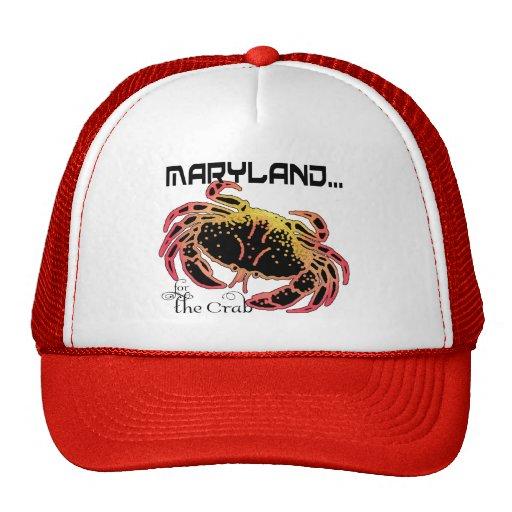 Gorra del cangrejo del MD