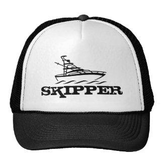 Gorra del capitán para los entusiastas del canotaj