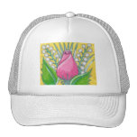 Gorra del capullo de rosa