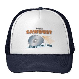 Gorra del carpintero - hago el serrín