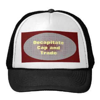 Gorra del casquillo y del comercio