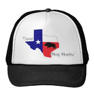Gorra del cazador del cerdo de Tejas