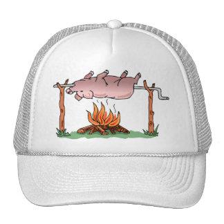 Gorra del cerdo de la asación