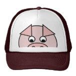 Gorra del cerdo de la mirada furtiva