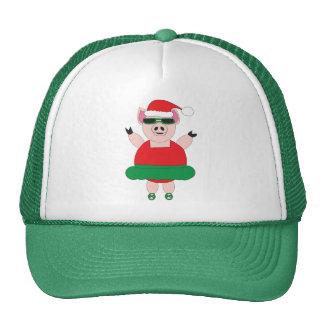 Gorra del cerdo del ballet del navidad