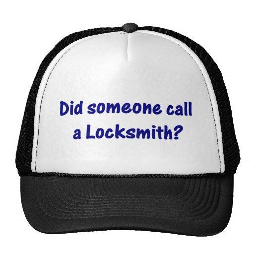 Gorra del cerrajero