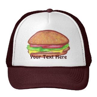 Gorra del cheeseburger