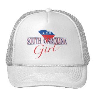 Gorra del chica de Carolina del Sur
