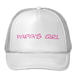 Gorra del chica de la papá