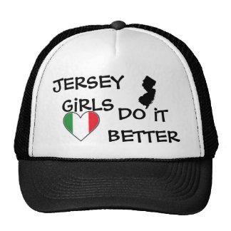 gorra del chica del jersey