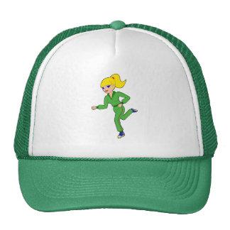 gorra del chica que activa