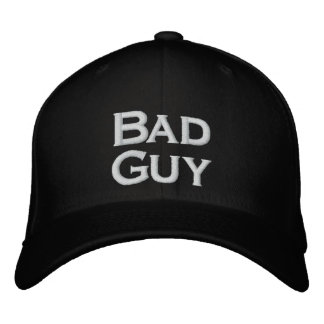 Gorra del chico malo gorra bordada