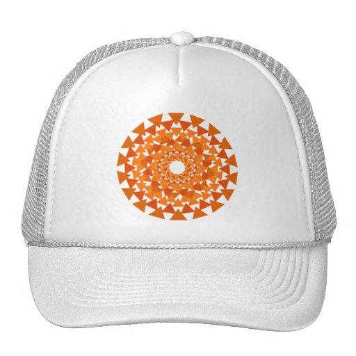 Gorra del círculo del triángulo