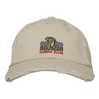 Gorra del club de la cobra de Houston Gorra De Béisbol Bordada
