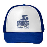 Gorra del club de la nadada de Bronson