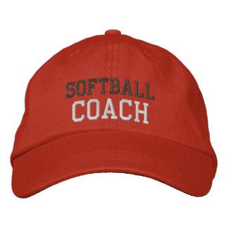 Gorra del coche del softball del texto del carbón  gorra de béisbol