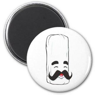 Gorra del cocinero del dibujo animado imán para frigorifico