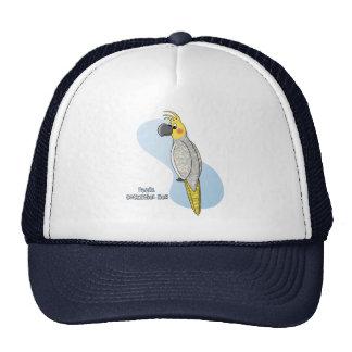 Gorra del Cockatiel de la perla