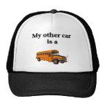 Gorra del conductor del autobús escolar