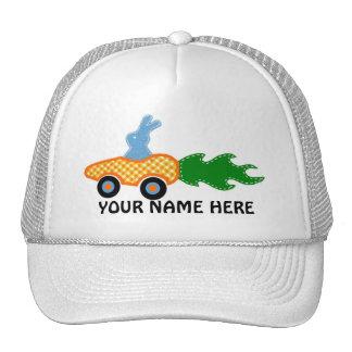 Gorra del conejito del coche de la zanahoria