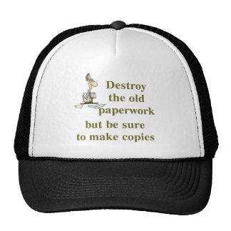 Gorra del contable