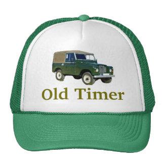 """Gorra del """"contador de tiempo viejo"""" de Land Rover"""