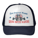 Gorra del control de armas del tío Sam