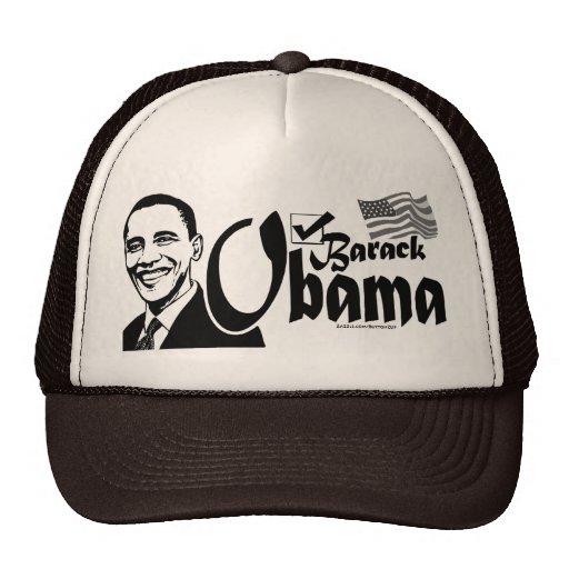 Gorra del control de Barack Obama