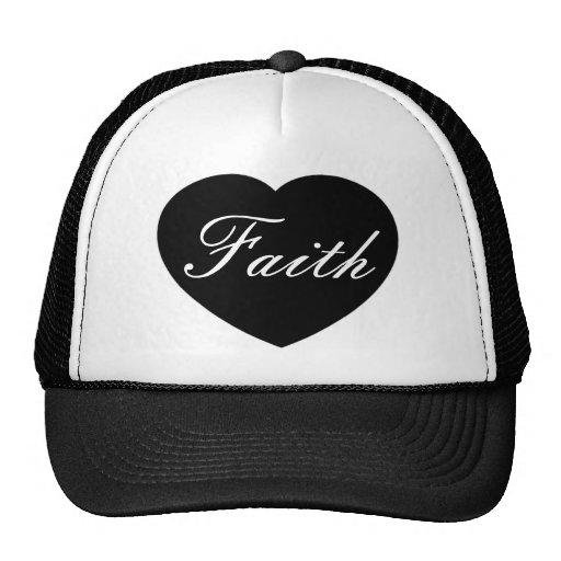 Gorra del corazón de la fe