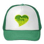 Gorra del corazón del amor