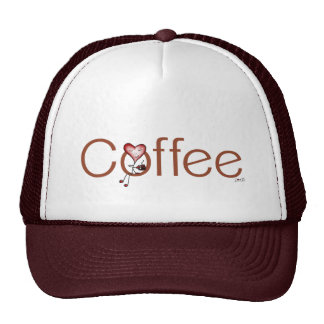 Gorra del corazón del café del amor