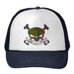 Gorra del cráneo del tartán de Carnegie