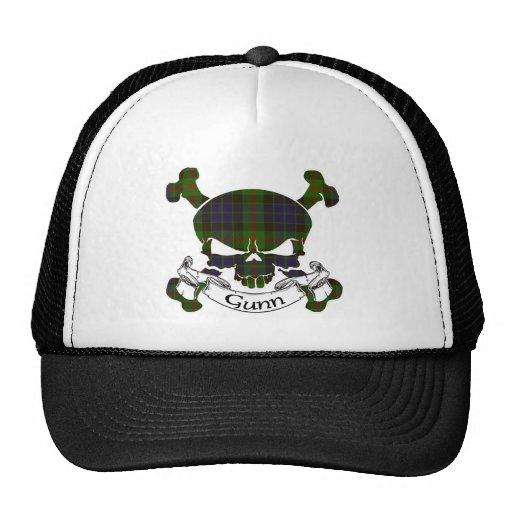 Gorra del cráneo del tartán de Gunn