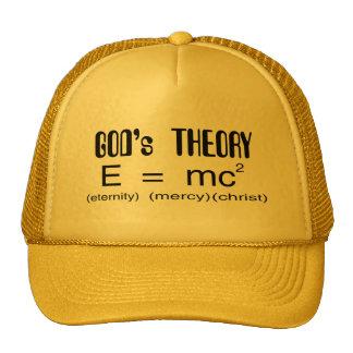 Gorra del cristiano de la teoría de dioses