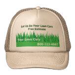 Gorra del cuidado del césped