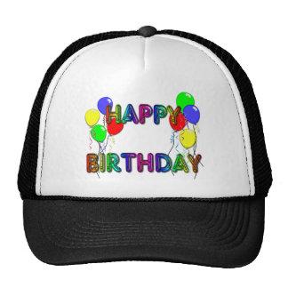 Gorra del cumpleaños de los impulsos D1 del feliz