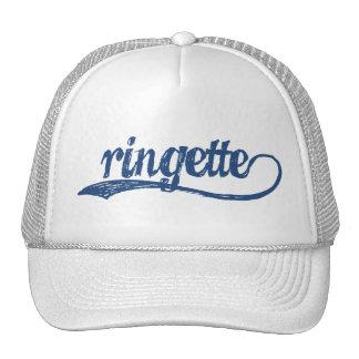 Gorra del Cursive de Ringette