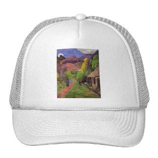 """""""Gorra del de Tahití"""" - Paul Gauguin de la ruda"""