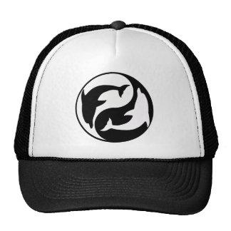 Gorra del delfín de Yin Yang