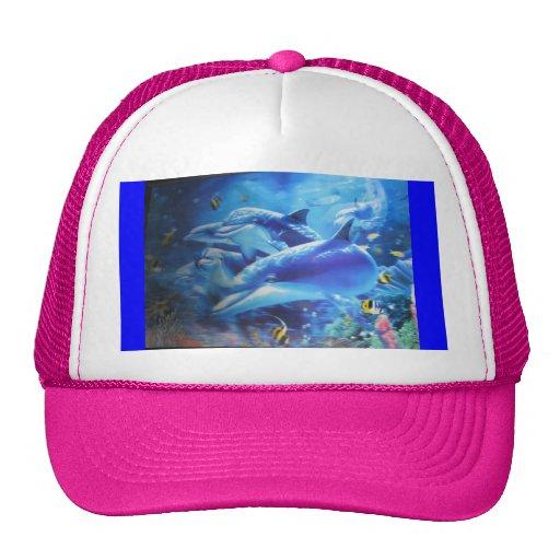 Gorra del delfín del amor