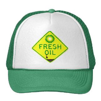 Gorra del derrame de petróleo de BP - aceite fresc
