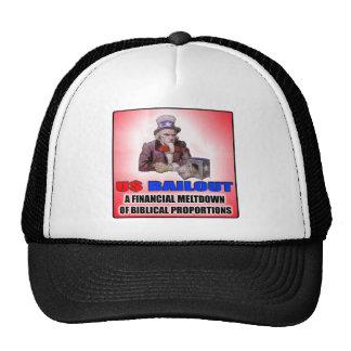Gorra del desalojo urgente de los E.E.U.U.