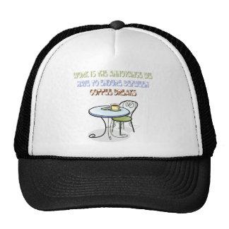 Gorra del descanso para tomar café
