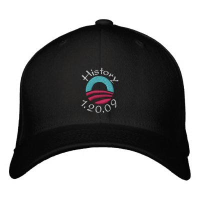 Gorra del día de inauguración gorra de beisbol bordada