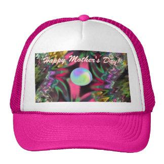 Gorra del día de madre del fractal -