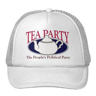 Gorra del día del impuesto de la fiesta del té