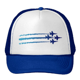 Gorra del diamante de los ángeles azules